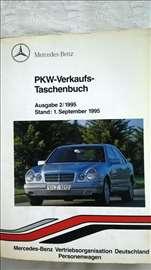 Prodajna knjiga za Mercedes E klase 1995.god.,