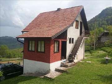 Tara, Zaovine kuća za odmor