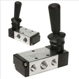 Pneumatski razvodnik / ventil sa ručkom 2 pozicije