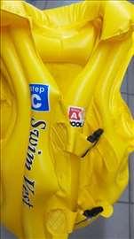 Dečiji vazdušni prsluk za plivanje S žuti