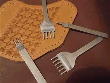 Alat za probijanje rupa u koži na rastojanju od 6m