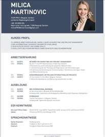 Izrađujem CV na nemačkom jeziku
