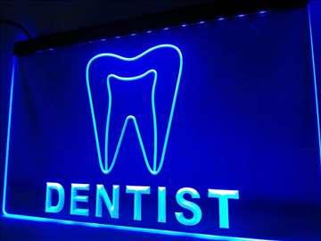 LED reklama za stomatološku ordinaciju