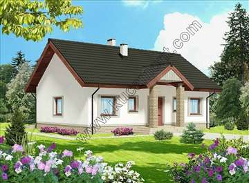 Montažna kuća Domo 25 - Montažne kuće KućaMont