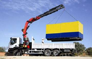 Prevoz građevinskog materijala, podizanje