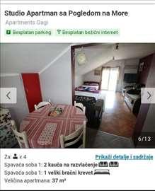 Apartman i sobe. Zelenika