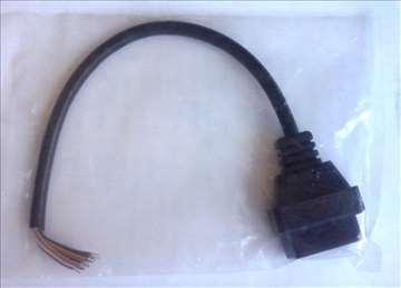 Otvoreni Dijagnostički kabl za OBD-II 4,6,9,12 i16