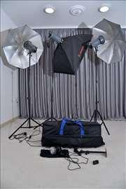 Fotografska profesionalna rasveta, komplet