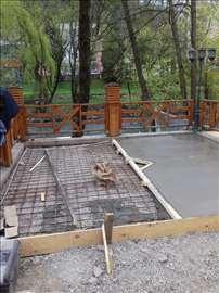 Sečenje zidova betona