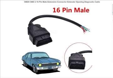 Otvoreni Dijagnostički OBD kabl za vozila sa 16Pin