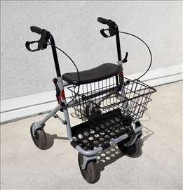 Hodalica šetalica rolator + korpa