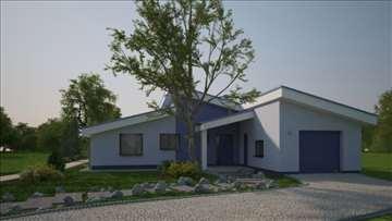 Montažna kuća Bungalov 48  - Montažne kuće KućaMon
