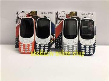 Nokia 3310 (dual sim), dve kartice, srpski meni