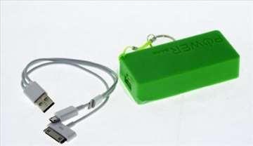 Smart power bank jačine 5600mAh - zelena