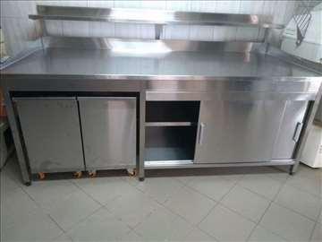 INOX radni stolovi - po meri