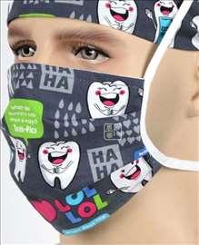 Hirurška kapa i maska