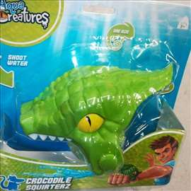 Krokodil-pištolj za vodu