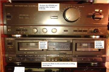 Prodajem Technics RS-TR165 double cassette deck