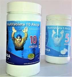 Tablete za bazene 10 u 1 Diasa