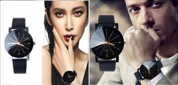 Ženski + Muški sat prelepog dizajna, novo