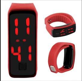 HIT LED narukvica-sat crvena, novo