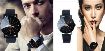 Muški+Ženski sat prelepog dizajna, novo