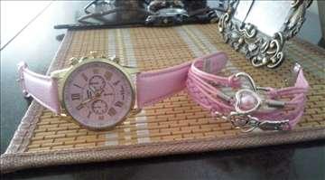 Geneva Luxury ženski sat i narukvica + POKLO
