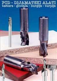 Oštrenje dijamantskih (PCD) alata za drvo, akcija