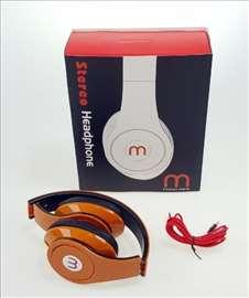 Stereo slušalice M - studio - novo