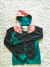 Vrhunska jaknica/trenerka gornji deo pink crna