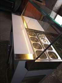 Kombinovane toplo/hladne vitrine za pizzu i salate