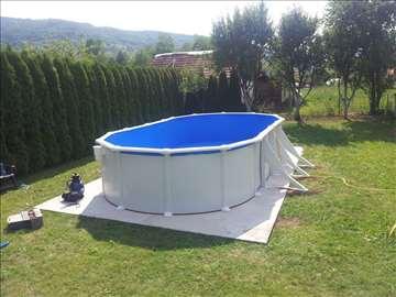 Montažni bazen 7.3x3.75x1.2