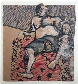 Sedeća figura