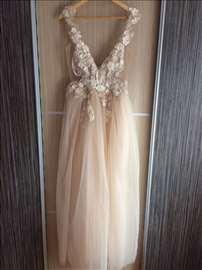 Svečana haljina venčanica, unikat