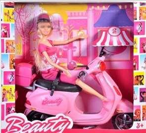 Beauty Barbika i vespa 30cm