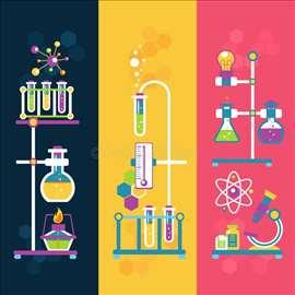 Časovi hemije i prijemni - osnovci i srednjoškolci
