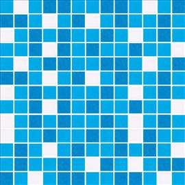 Stakleni mozaik mix plavih