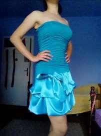 Tirkizna haljinica