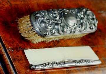 Venecijanski srebrni damski pribor