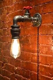 Zidna lampa - retro handmade