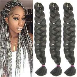 Sintetička kosa za afričke kikice 165 grama