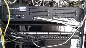 Montaža i programiranje Panasonic telef. centrala