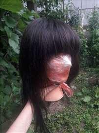 Perika od prirodne kose, ručno rađena