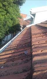 Čišćenje oluka, krovova, fasada