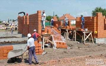 Izgradnja kuće, sistem ključ u ruke
