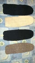 Vunene čarape, ručni rad
