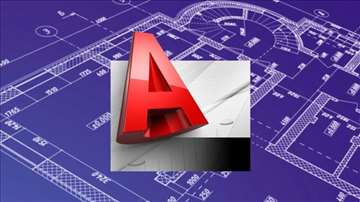 Izrada projekata u  AllPlan-u, AutoCAD-u...