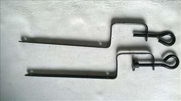 Metal drzaci mrezice za stoni tenis