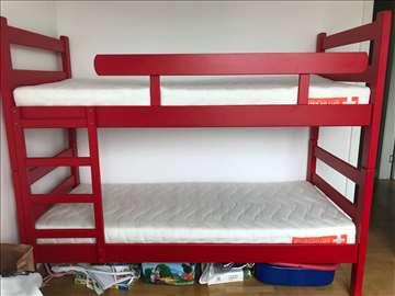 Nov krevet na sprat, dušeci ortopedski