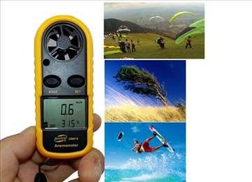 Džepni merač brzine vetra / anemometar